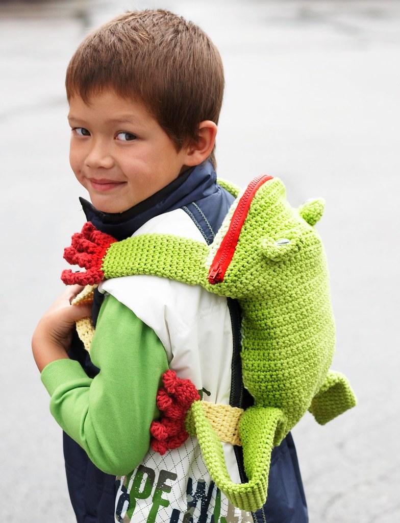 Crochet Backpacks for Summer Free Patterns | 1024x784