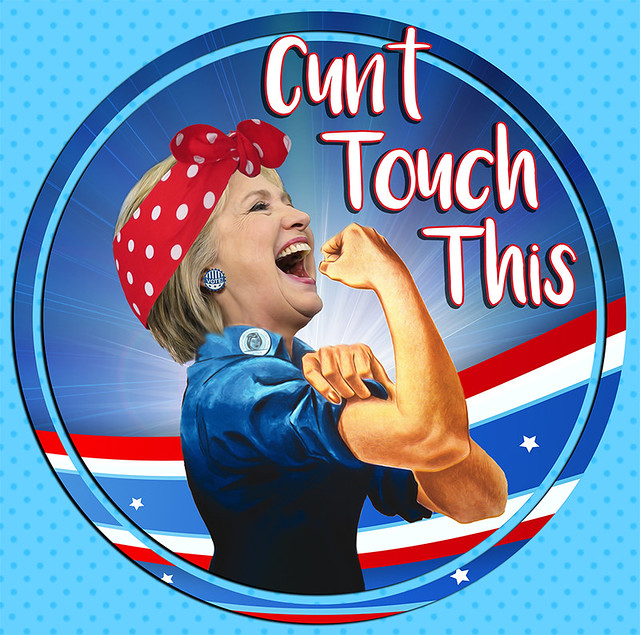 Hillary Clinton, Rosie the Riveter, Democrat Presidential Nominee 2016 Election