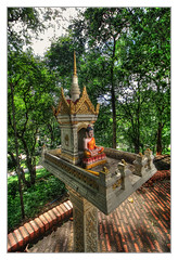 Phnom Penh K - Wat Phnom Spirit house rean tevoda