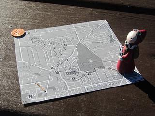 Portland City Walks No. 15 - Map