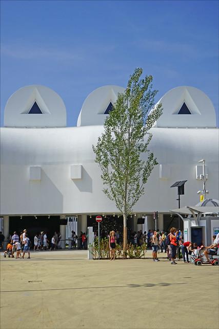 Le pavillon de la Corée du sud (Expo Milan 2015)