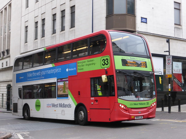 National Express West Midlands 4849 BX61 LLW 'Ella May' on 33