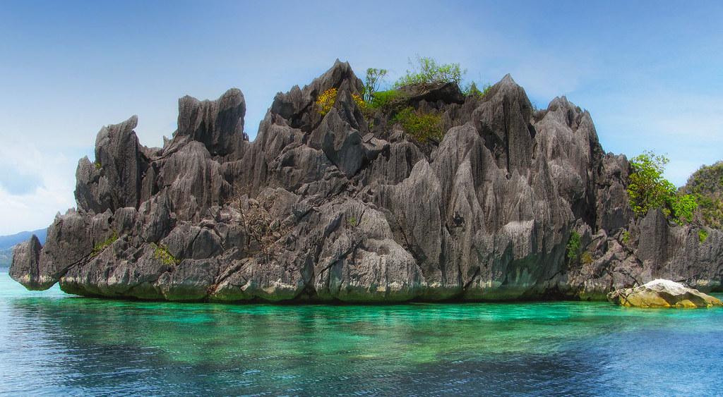 Coral & Limestone, Coron Island, Palawan, Philippines