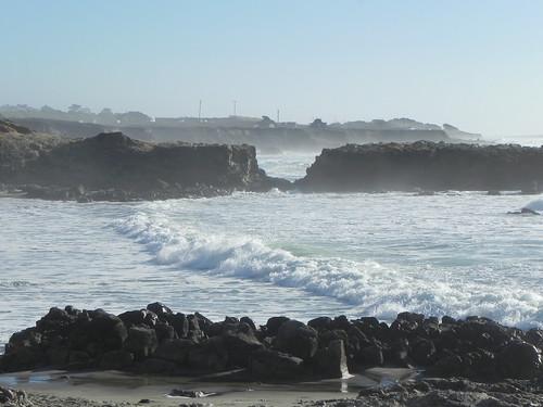 Am Pescadero State Beach
