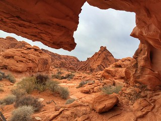 Window Into the Valley of Fire | by Ingrid Taylar