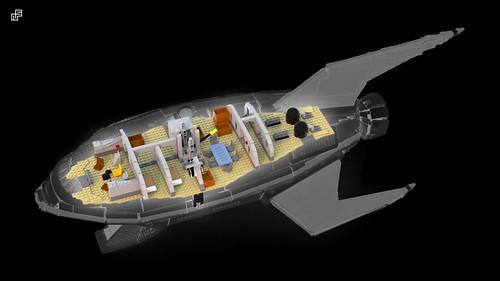 Planet Express UCS - interiors