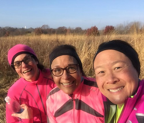 On Saturdays We Wear Pink ... and Go Trail running #shirleyruns #secondwindrunning #prairie | by shirley319