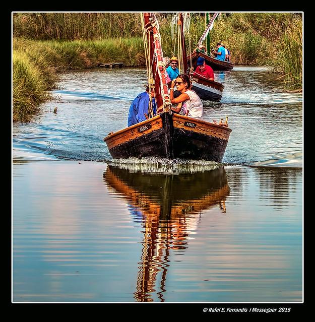 Eixida del port de Silla (Leaving Silla's port)
