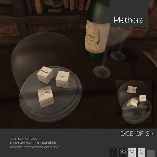 Plethora - Dice of Sin