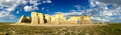 Monument Rocks Panorama
