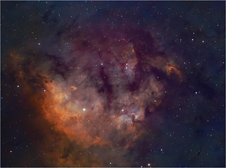 NGC 7822 with APM 105 an editing tweak | by Jesper Sundh