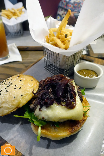 Village Tavern Octoberfest Wagyu Burger 2 | by foodreviewsmanila