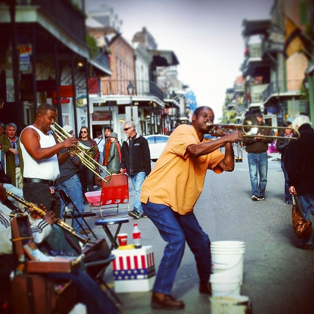 French Quarter Musician.