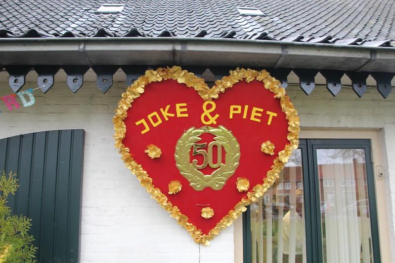 50 jarig huwelijk Piet en Joke, 29-11-2015