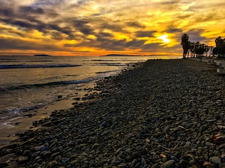 Sunset in Ventura at Surfer's Point | by rockmixer