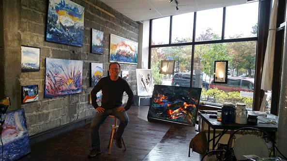 Ma nouvelle Galerie STUDIO rue Saint-Paul à Québec