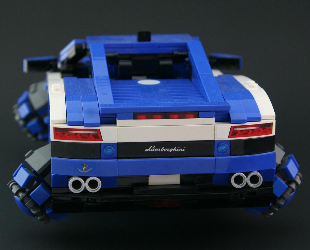 Maglev Lamborghini Back I Added Maglev Generators In Place Flickr