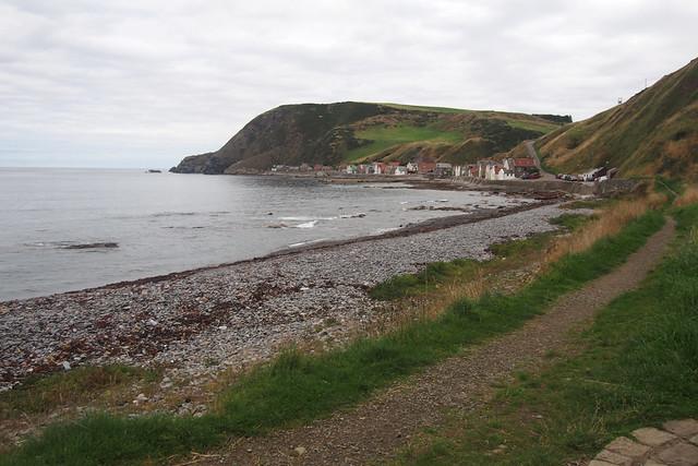 Coast path between Crovie and Gardenstown