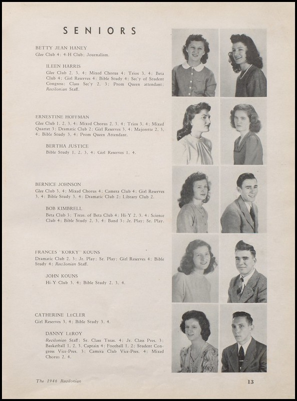 Greenup County Public Libraries 1946 Russell High School Yearbook