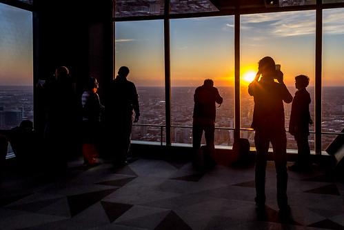 sunset panorama usa sun chicago america skyscraper canon eos us illinois sonnenuntergang unitedstates unitedstatesofamerica amerika sonne hochhaus johnhancockcenter hochhäuser vereinigtestaatenvonamerika 60d canon60d canoneos60d eos60d 360chicago
