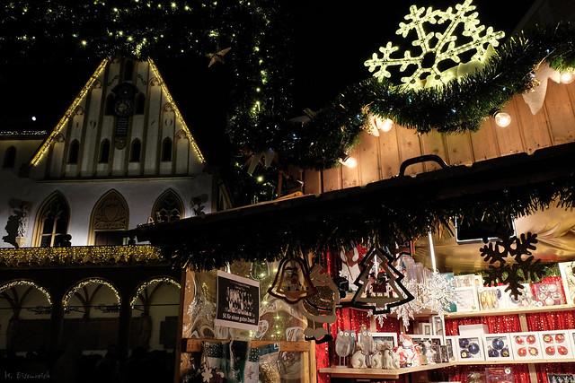 der Weihnachtsmarkt in Amberg