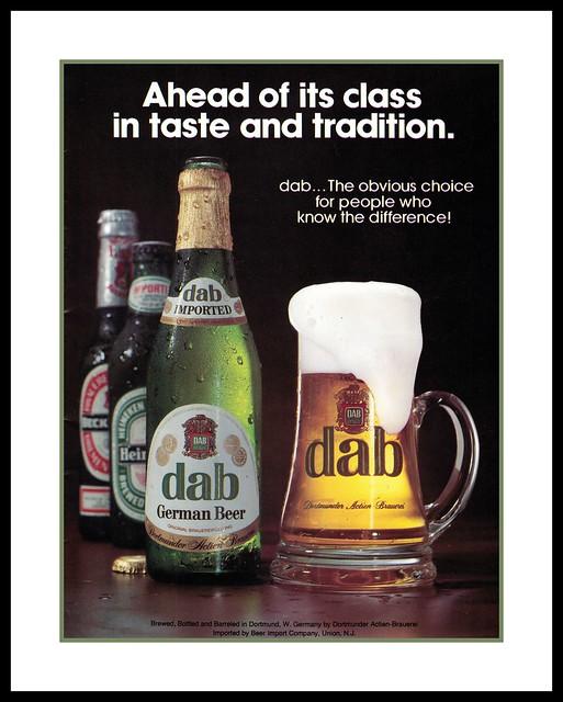 Dab Beer, 1981