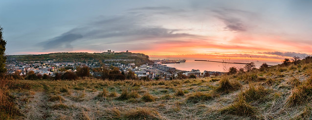 Morning Sunshine Over Dover