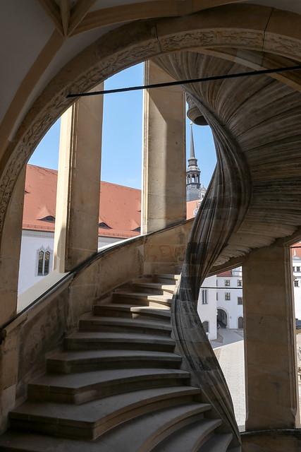Torgau, Schloss Hartenfels, Wendelstein