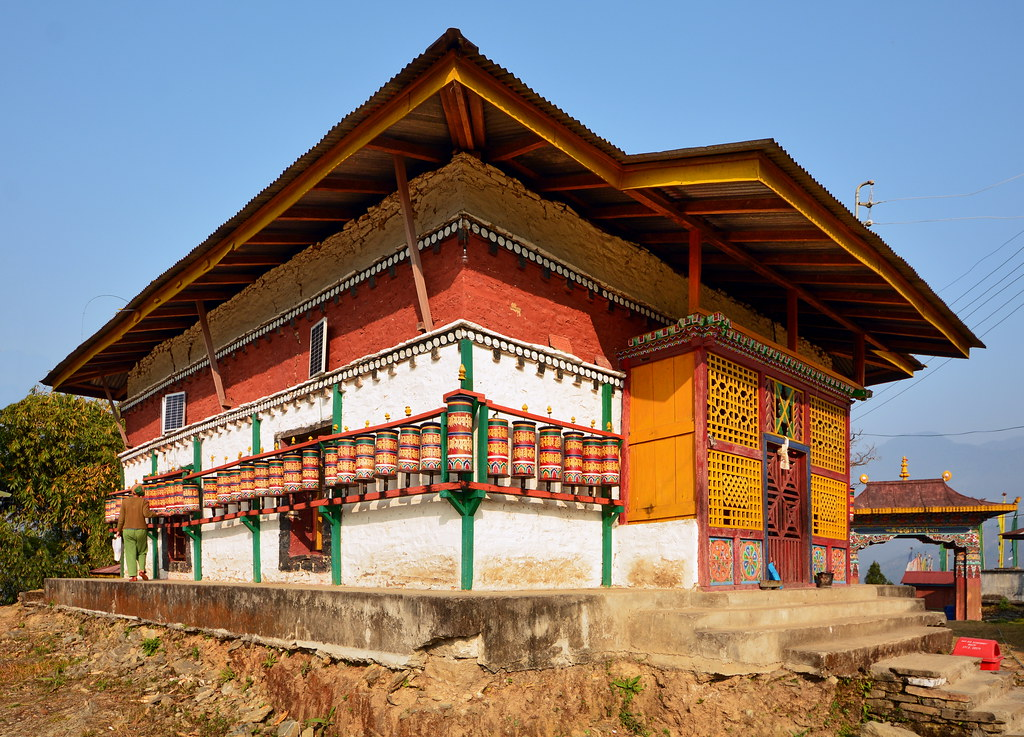 India - Sikkim - Tashiding - Tashiding Monastery - 54