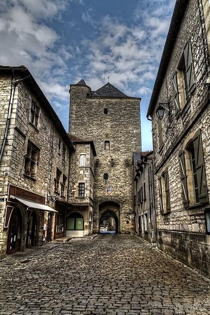 Porte Haute (Donjon) Villeneuve 12260