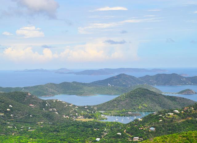 View from St. John USVI