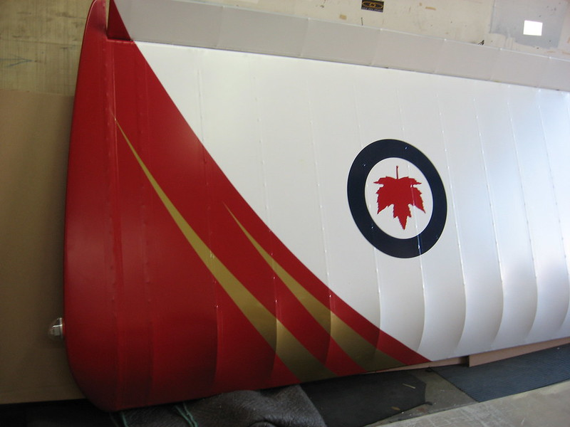 Plane wing vehicle graphics