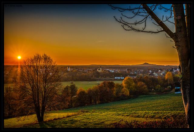 sunset - seen from St.Felix