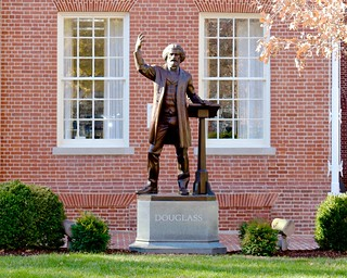 Frederick Douglass Monument in Easton, MD   by Matthew Straubmuller