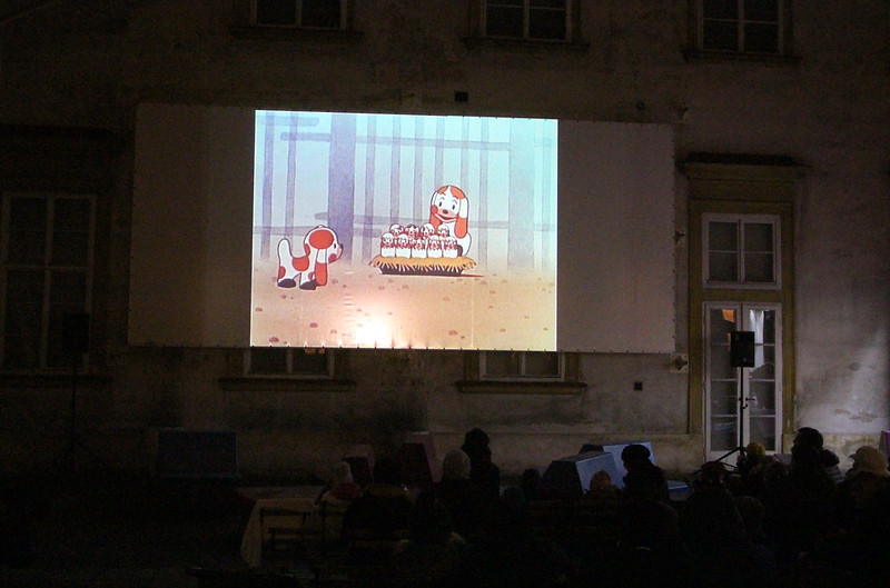 Silvestr v letním kině - Krtek a oslava