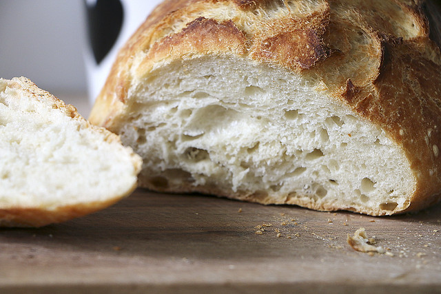 No Knead Bread by machetwas.blogspot.com #bread #nokneadbread #machetwas.blogspot.com
