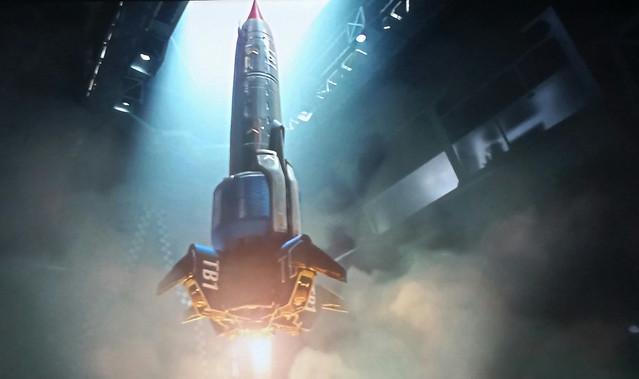 Thunderbird 1 Take Off.