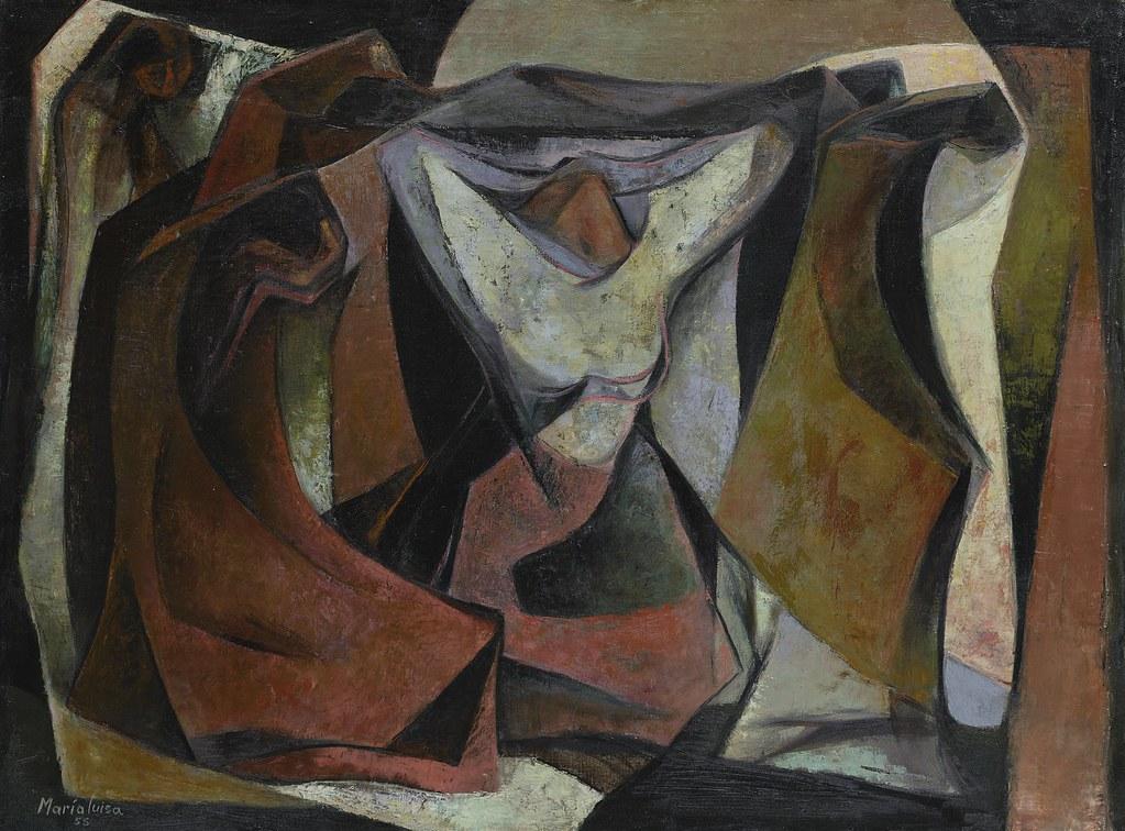 María Luisa Pacheco - Untitled [1955] María Luisa Pacheco … Flickr