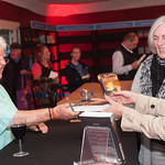 Val McDermid | Val McDermid signs books for avid fans after her Book Festival event © Alan McCredie
