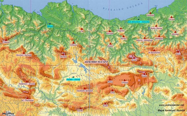 AIZKORRI raizk021 mapa 01 situación NONDIK Aranzadi valles Degurixa y Araotz