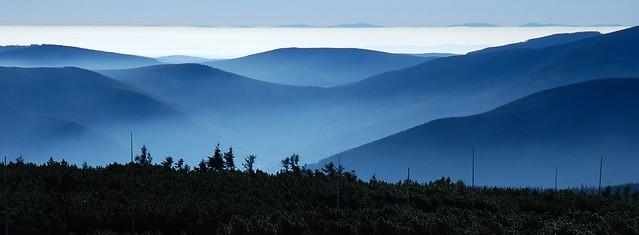 Jeseníky - údolí Bělé z Keprníku