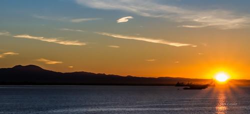 ocean california morning november blue sea sky sun seascape beach water clouds sunrise canon landscape outside outdoors harbor us long unitedstates pacific sunny pacificocean longbeach 7d saddleback sunscape canon7d