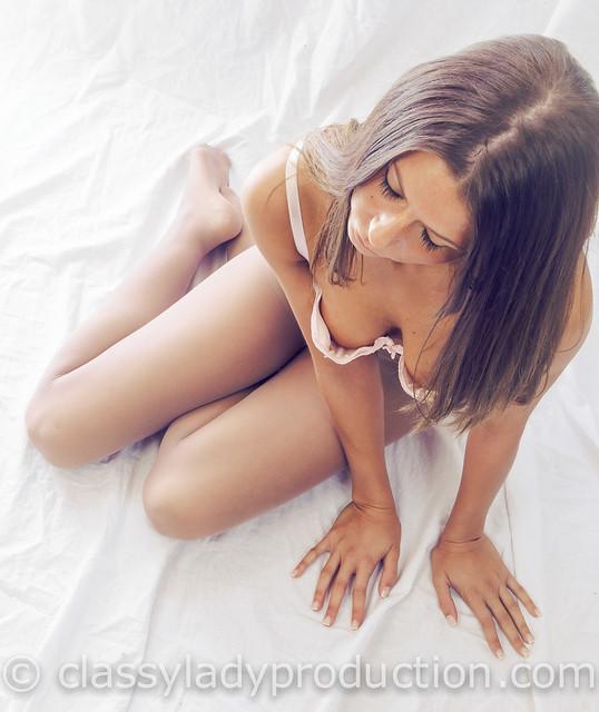 dreamy in her underwear
