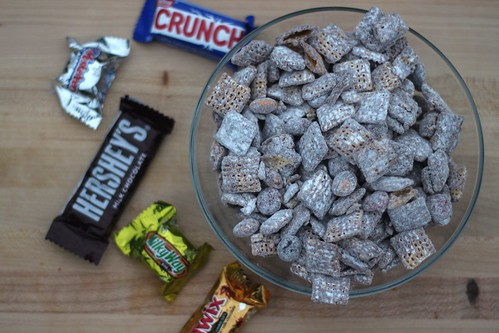Halloween Candy Muddy Buddies | by niftyfoodie