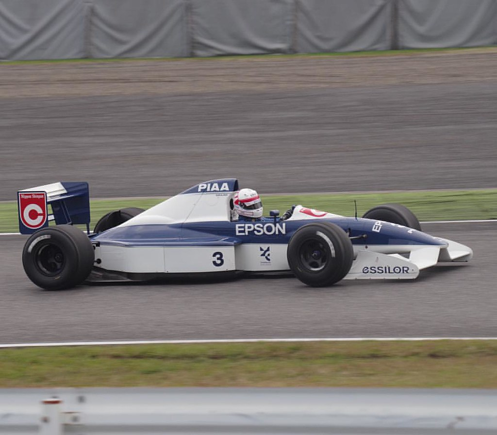 In Suzuka Sound of Engine, Tyrrell 019  in this event, 2 T