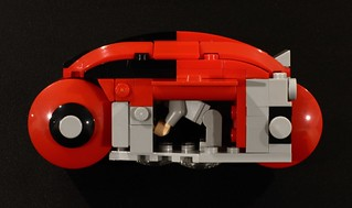 LEGO TRON Light Cycle Mini-Fig Scale | by SPARKART!
