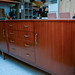Retro teak 2 door sideboard