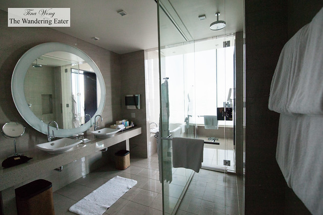 Bathroom at King Executive Suite Bay View