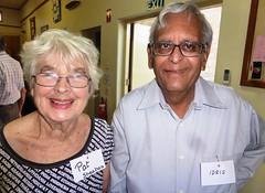 Pat Sheahan and Idris Muthy