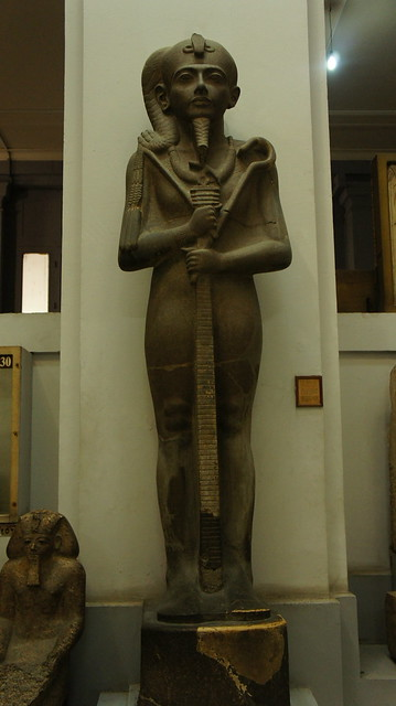 King Tutankhamen's state at the Egyptian Museum of Cairo